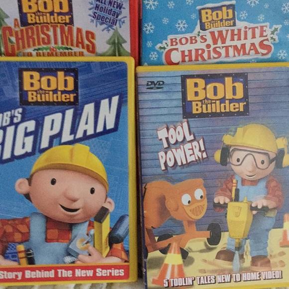 Accessories Bob The Builder Dvd Bundle Poshmark